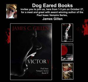 Author Event - James Gillen @ Dog Eared Books